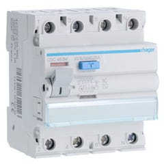 DIFERENCIAL 4P 63A 30MA-AC HAGER