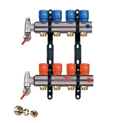 COLECTOR SERIE SF 6+6 SIN RACORES