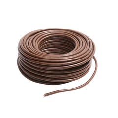 HILO FLEXIBLE H07Z1-K 6MM2 METRO LINEAL MARRON