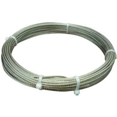 CABLE ACERO INOXIDABLE 7 X 7 + 0   4 MM CABLES Y ESLINGAS. 15 M
